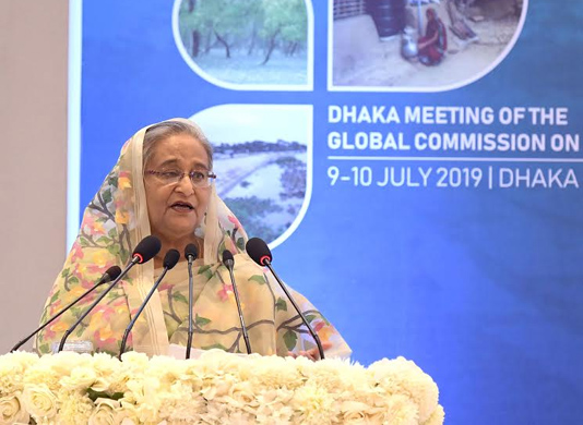 PM seeks global leaders enhanced awareness about climate change
