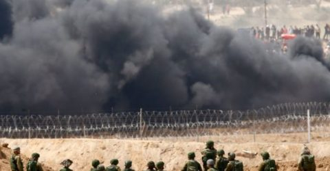 Three Palestinians killed by Israeli soldiers at Gaza border: ministry