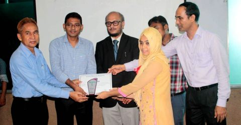 The Prize Giving Ceremony and Unveiling of Wall Magazine held at NUB