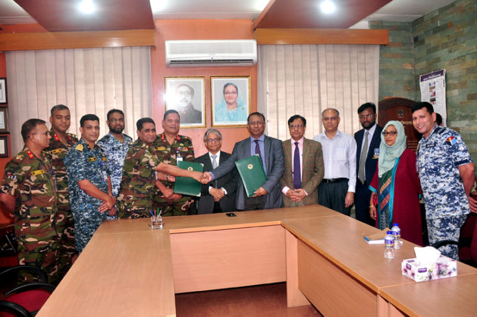 DU, Defence Services Command and Staff College sign MoU