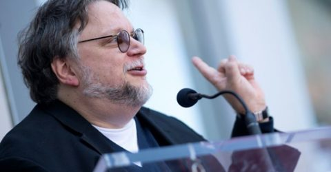 Del Toro gets Hollywood star, urges immigrants to reject fear