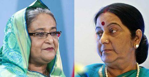 PM Hasina condoles death of Sushma Swaraj