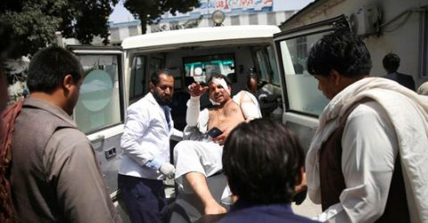 63 killed, 182 wounded in Kabul wedding blast: official