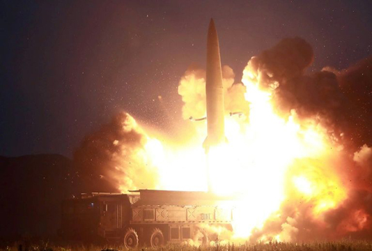 Kim sends missile 'warning' to S.Korea, US as tensions rise