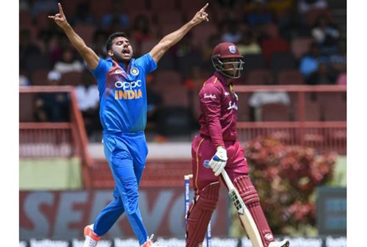 'Lethal' Deepak Chahar sets up India clean sweep in West Indies T20 series