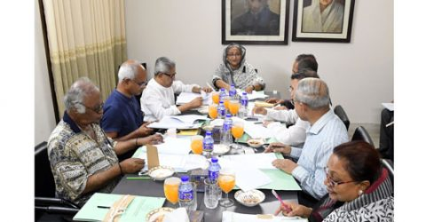 Bangabandhu Memorial Trust meets