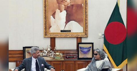 Modi invites Sheikh Hasina to visit India