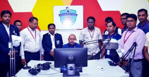 Experimental Campus Radio broadcast launched at BRUR
