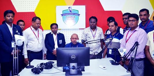 Experimental Campus Radio broadcast launched at BRUR