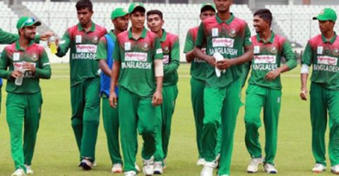 UK U-19 Tri-nation: Bangladesh, England match ends in a tie