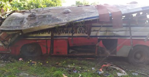 Eight killed in Faridpur road crash