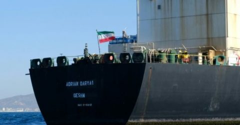 Iran tanker departs after Gibraltar rejects US demand