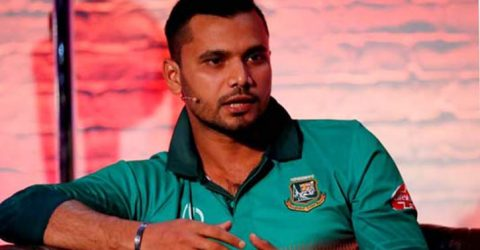 Zimbabwe ODI series will be last for Mashrafe as captain: Papon