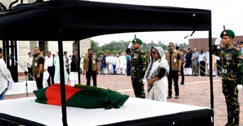 PM pays tributes to NAP President Muzaffar Ahmed