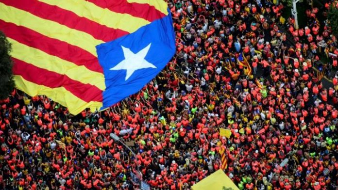 Catalan separatists to test strength with Barcelona rally