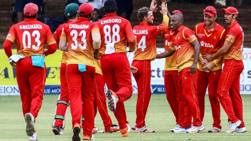 Zimbabwe in town to play tri-nation T20 series