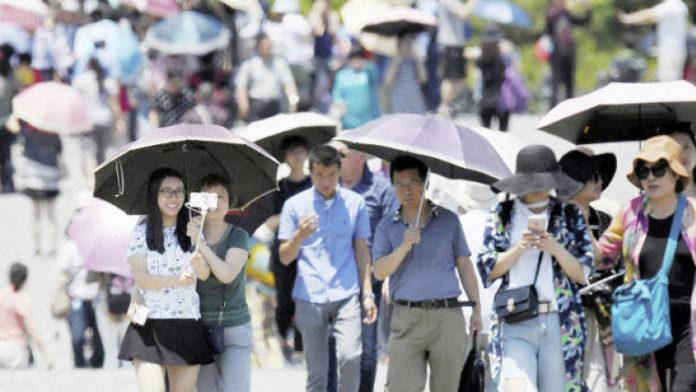 Heatstroke kills two in Japan post-typhoon blackout