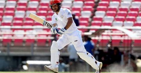 Rahmat proud to be first centurion for Afghanistan