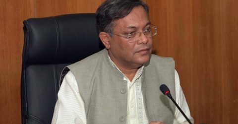 BNP makes comments like mad as vaccines reach country: Hasan