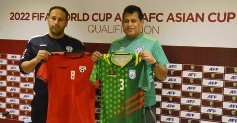 Bangladesh face Afghanistan tomorrow