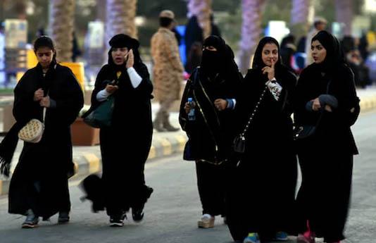 'Rebel' Saudi women shun obligatory abaya robe