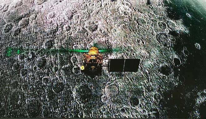 Lander Vikram located on moon's surface: ISRO