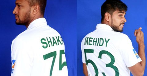Tigers to play Test against Afghans with name, number on jersey
