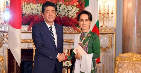 Shinzo Abe urges Myanmar to create conducive environment for Rohingya repatriation