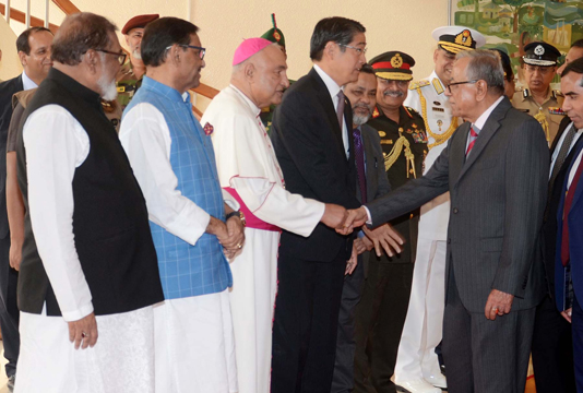 President off to Japan to attend emperor's enthronement ceremony