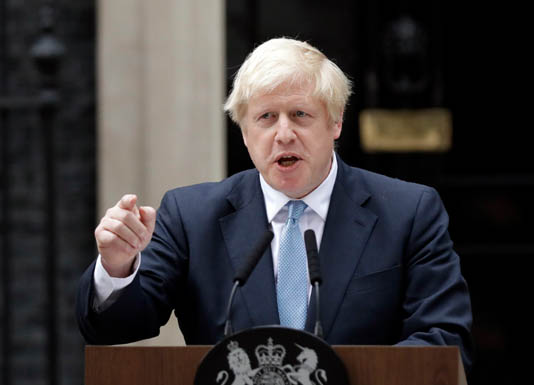 British PM Johnson prepares fresh Brexit push