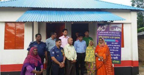Brick-built house smiles 1,360 distressed families in Rajshahi