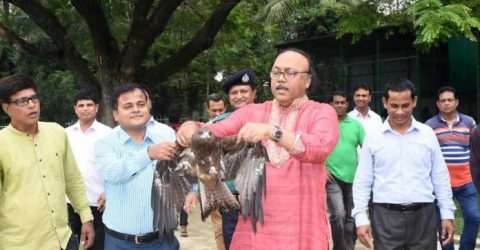 Mayor Liton releases 27 birds from zoo cages