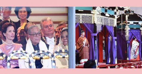 President joins Japanese Emperor's enthronement ceremony