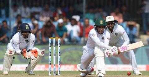 Mushfiqur, Miraz fights as Bangladesh reaches 191-6 at tea