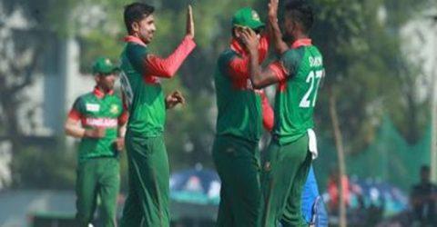Bangladesh Emerging team beats India by 6 wickets