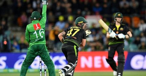 Australia beat Pakistan by seven wickets in second T20