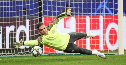 Ederson doubt for Liverpool clash after coming off against Atalanta