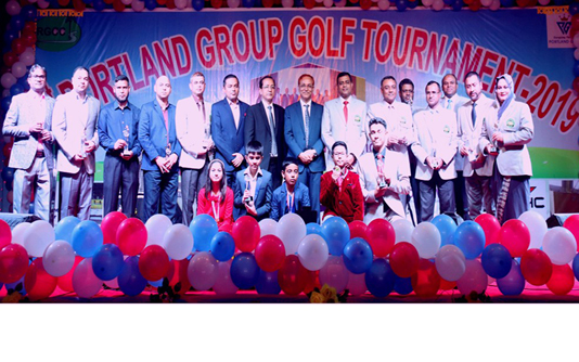 Portland Group Golf Tournament ends in Rangpur