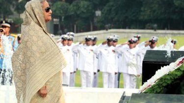 PM pays homage to Armed Forces martyrs