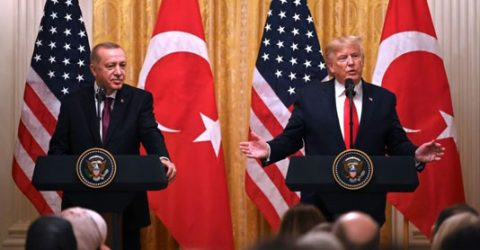 Trump dodges US-Turkey rows to focus on Erdogan friendship