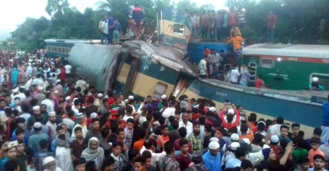 Death from B'Baria train accident reaches 16