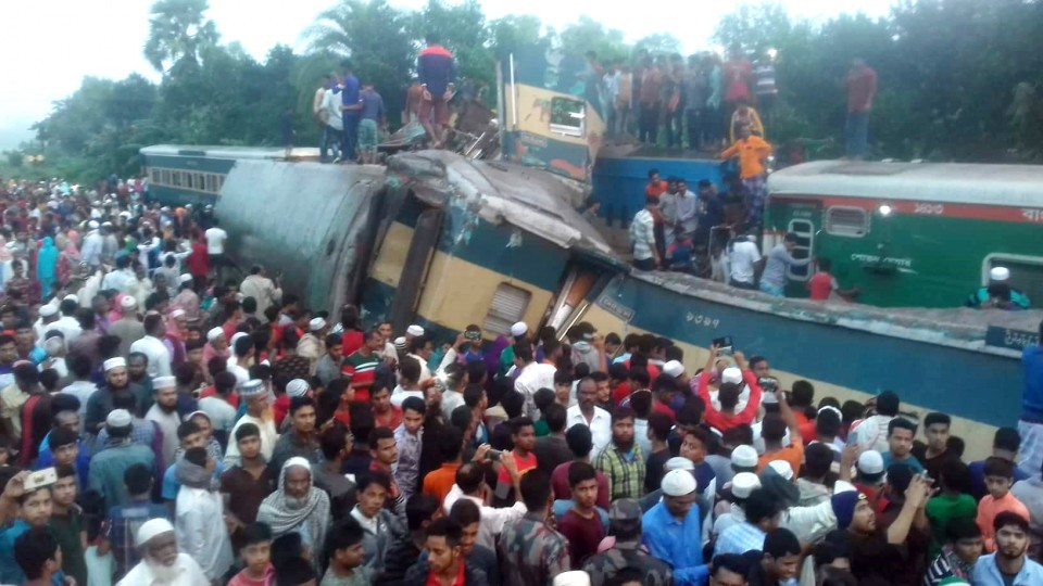 Death from B'Baria train accident reaches 16