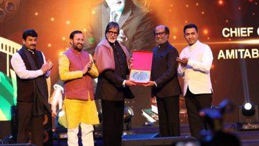 Rajinikanth receives Icon of Golden Jubilee award