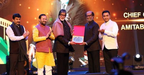 Rajinikanth receives Icon of Golden Jubilee award