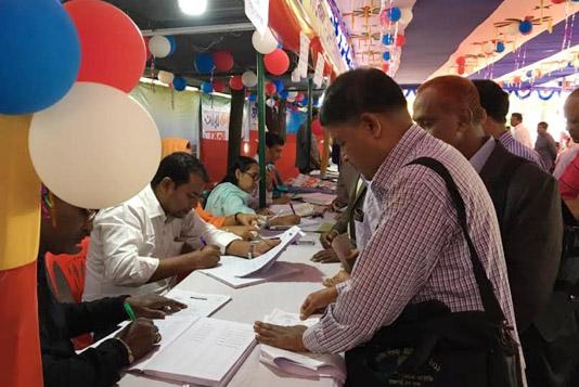 Week-long income tax fair begins in Rajshahi