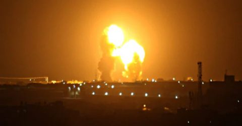 Israel carries out fresh strikes on Gaza after rocket fire: army