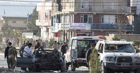 12, including children, killed in Kabul car bomb blast