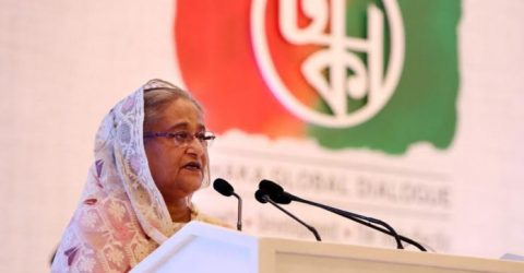 PM for global efforts to repatriate Rohingyas for regional stability