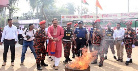 Fire fighters play vital role to disaster mitigation: Liton