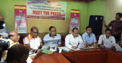 International Junior Tennis Championship in Rajshahi from Tuesday